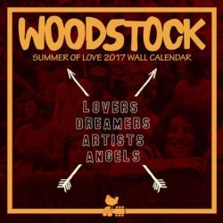 Woodstock 2017 Wall Calendar Music Calendar