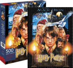 Harry Potter Sorcerer's Stone Movies / Books / TV Jigsaw Puzzle