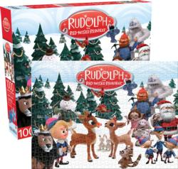 Rudolph The Red-Nosed Reindeer Nostalgic / Retro Jigsaw Puzzle