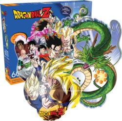 Dragon Ball Z Movies / Books / TV Double Sided Puzzle