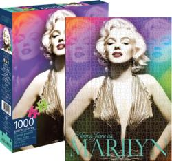 Marilyn Colors Famous People Jigsaw Puzzle