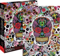 Sugar Skulls Graphics Jigsaw Puzzle