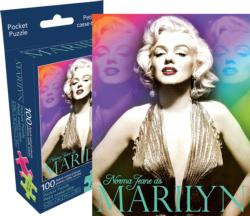Marilyn Colors (Pocket Puzzle) Famous People Miniature Puzzle