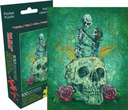 Amor Eterno (Pocket Puzzle) Day of the Dead Miniature Puzzle