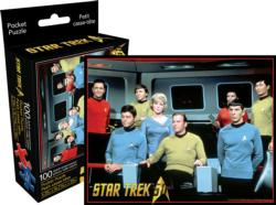 Star Trek Cast (Pocket Puzzle) Sci-fi Miniature Puzzle