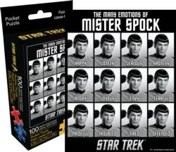 Star Trek Emotions (Pocket Puzzle) Sci-fi Miniature Puzzle