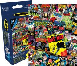 DC Comics Batman Collage Super-heroes Miniature Puzzle