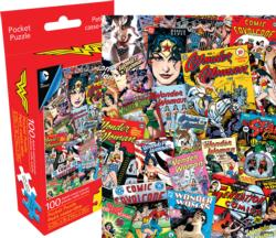 DC Comics Wonder Woman Super-heroes Miniature Puzzle