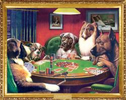 A Bold Bluff (Pocket Puzzle) Dogs Miniature Puzzle