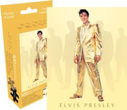 Elvis Gold (Mini) Music Miniature