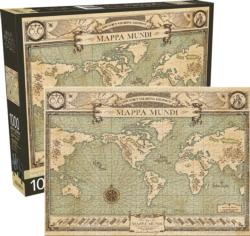 Fantastic Beasts Map Movies / Books / TV Jigsaw Puzzle