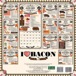 I Love Bacon 2018 Wall Calendar