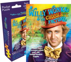 Willy Wonka (Pocket Puzzle) Movies / Books / TV Miniature Puzzle