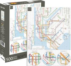 New York Subway New York Jigsaw Puzzle