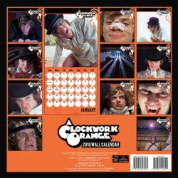 A Clockwork Orange 2018 Wall Calendar