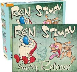 Ren & Stimpy Movies / Books / TV Jigsaw Puzzle