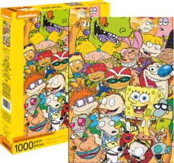 Nickelodeon Cast Movies / Books / TV Jigsaw Puzzle