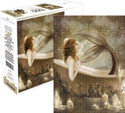 Mermaid Bath Time Mermaids Jigsaw Puzzle