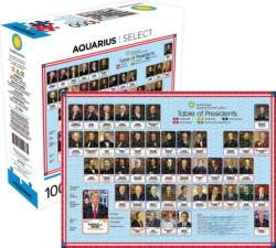 Smithsonian Table of Presidents History Jigsaw Puzzle