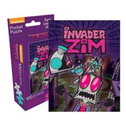 Invader Zim Pocket Puzzle Cartoons Miniature Puzzle
