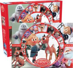 Rudolph Collage - Scratch and Dent Collage Jigsaw Puzzle