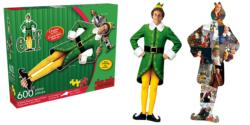 Elf Christmas Double Sided Puzzle