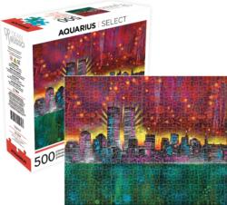 Twin Towers Landmarks / Monuments Jigsaw Puzzle