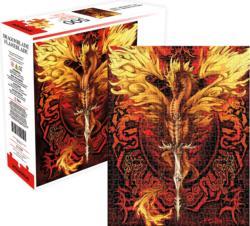 Dragon Blade- Flameblade Dragons Jigsaw Puzzle