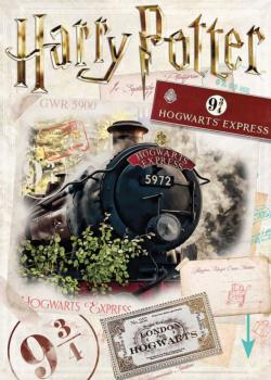 Harry Potter Ticket Harry Potter Jigsaw Puzzle