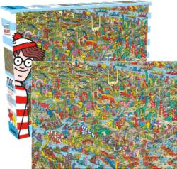 Where's Waldo Dinosaurs Movies / Books / TV Jigsaw Puzzle