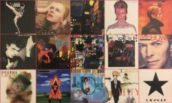 David Bowie Albums Music Jigsaw Puzzle