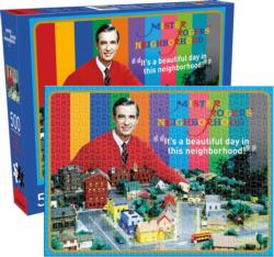 Mr Rogers Famous People Jigsaw Puzzle