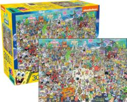 SpongeBob SquarePants Cartoon Jigsaw Puzzle