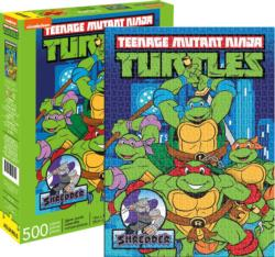TMNT Cartoons Jigsaw Puzzle