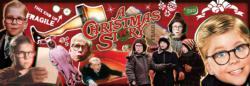 A Christmas Story - Panoramic Christmas Jigsaw Puzzle