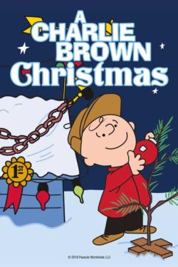 Charlie Brown Christmas Puzzle in a Tube Christmas Miniature Puzzle