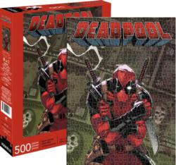 Marvel Deadpool Cover Super-heroes Jigsaw Puzzle