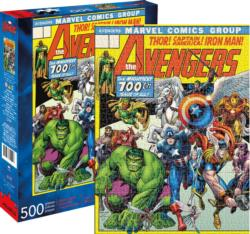 Marvel Avengers Cover Super-heroes Jigsaw Puzzle