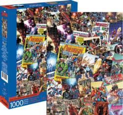 Marvel Avengers Collage Super-heroes Jigsaw Puzzle