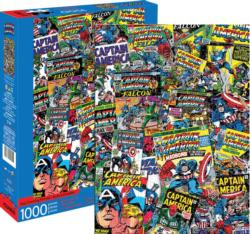 Marvel Captain America Collage Super-heroes Jigsaw Puzzle