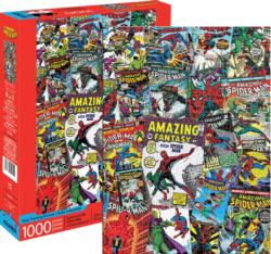 Marvel Spider-Man Collage Super-heroes Jigsaw Puzzle