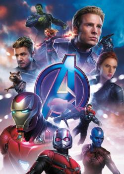 Marvel Avengers End Game Movie Super-heroes Jigsaw Puzzle