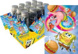 Spongebob Squarepants 150pc Puzzle In A Tube Cartoons Miniature Puzzle