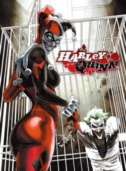 DC Comics Harley Quinn & Joker Super-heroes Jigsaw Puzzle