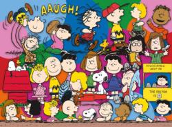 Peanuts Cast - Scratch and Dent Cartoons Jigsaw Puzzle