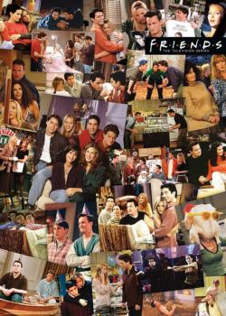 Friends Collage Collage Impossible Puzzle