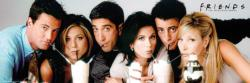 Friends Milkshake Movies / Books / TV Panoramic Puzzle