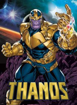 Marvel Thanos - Scratch and Dent Super-heroes Jigsaw Puzzle