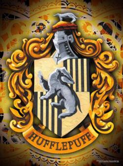 Harry Potter Hufflepuff Logo Harry Potter Jigsaw Puzzle