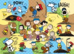 Peanuts Baseball Baseball Jigsaw Puzzle